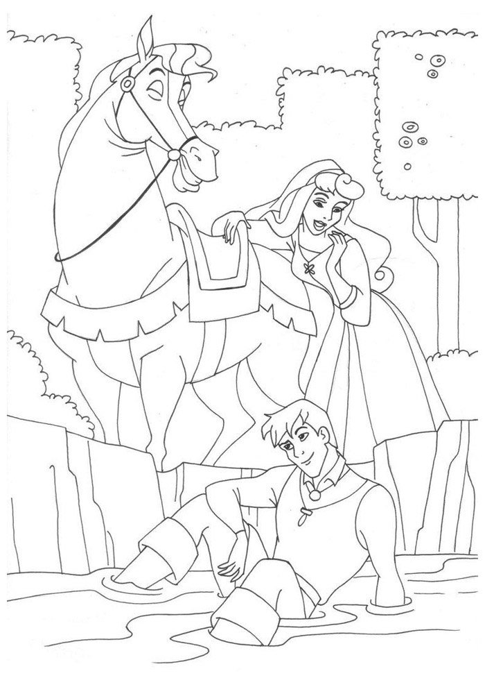 Horse coloring page 57