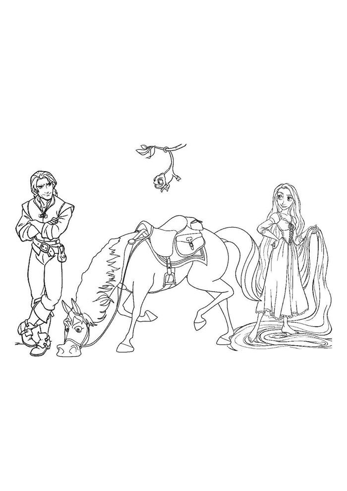 Horse coloring page 69