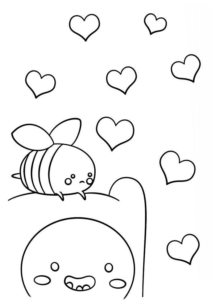 Kawaii coloring page 46