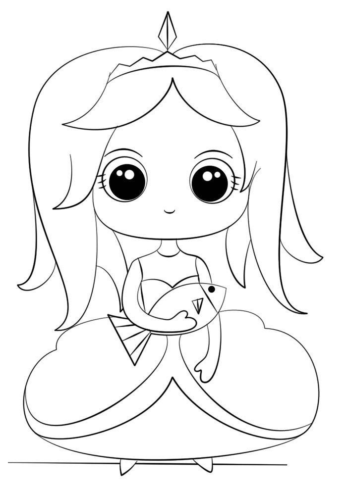 Kawaii coloring page 49