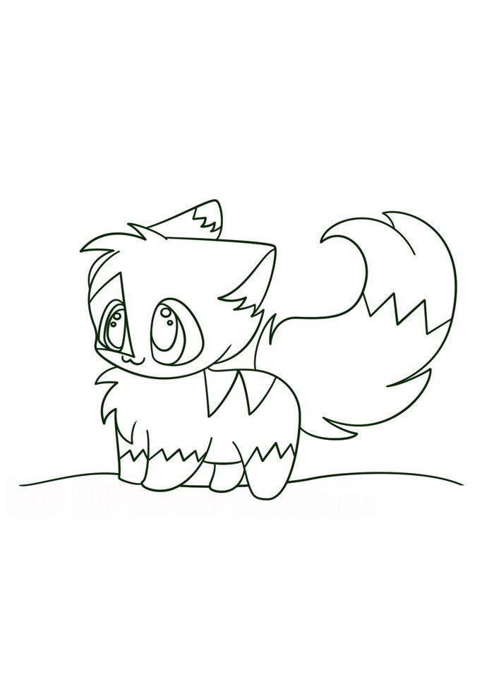 Kawaii coloring page 50