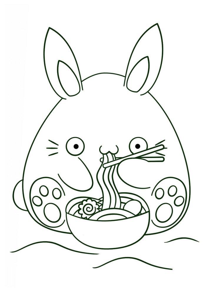 Kawaii coloring page 53