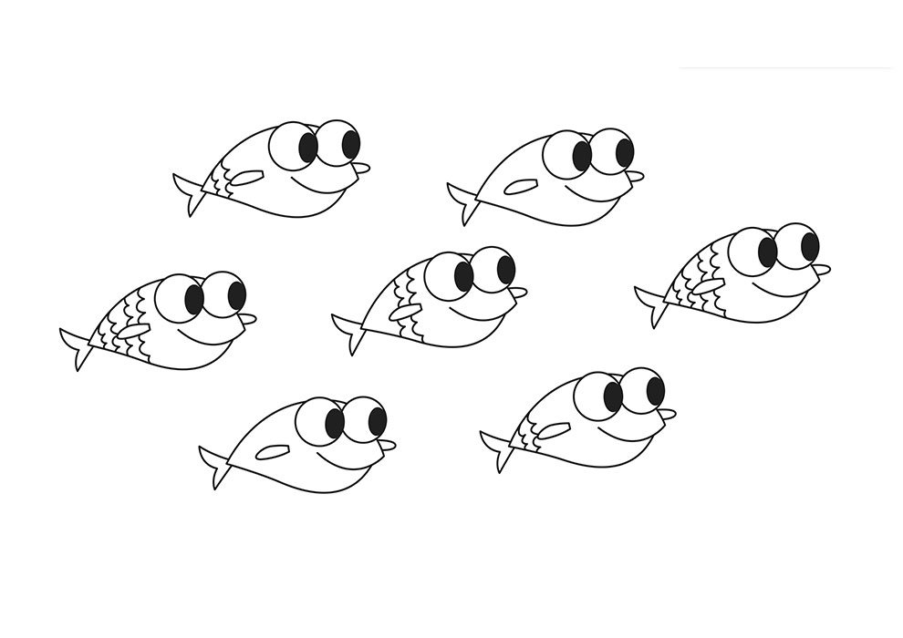 baby shark coloring pages little sharks