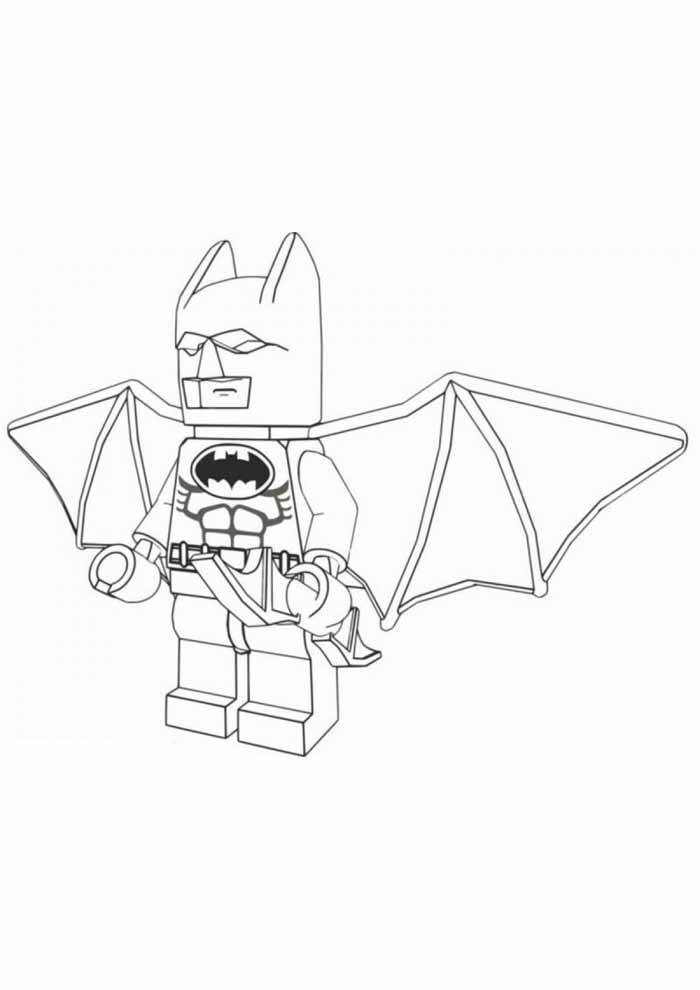 batman coloring page lego