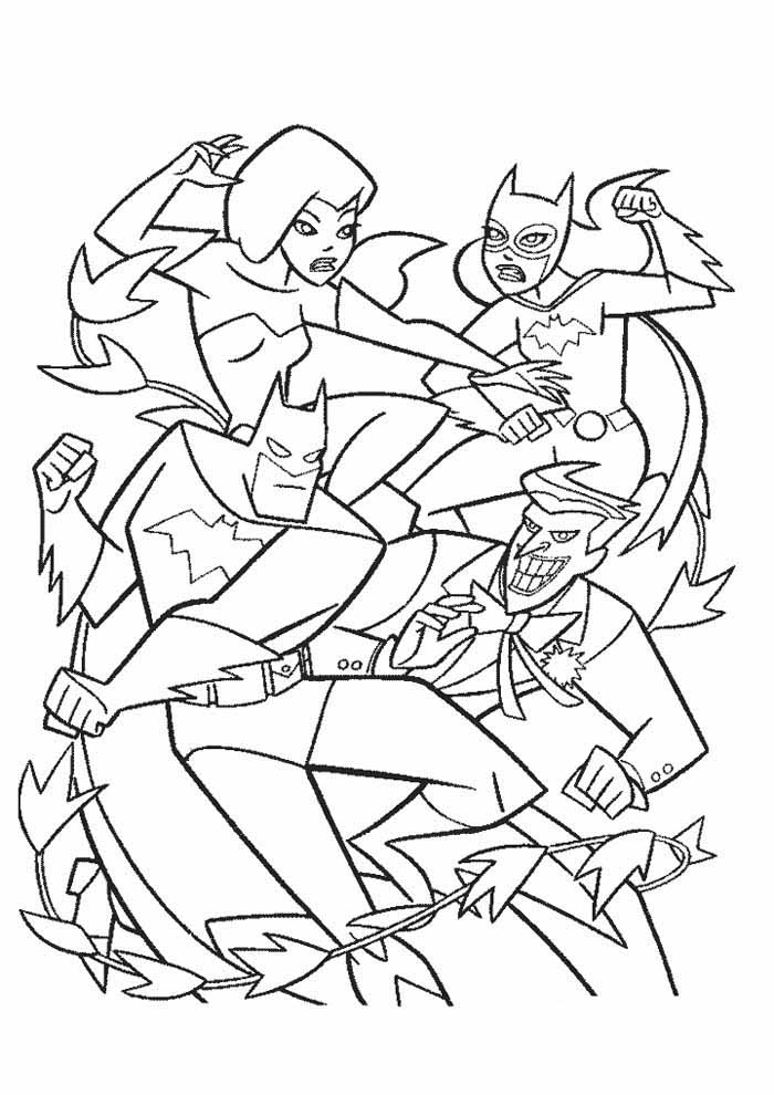batman coloring page10
