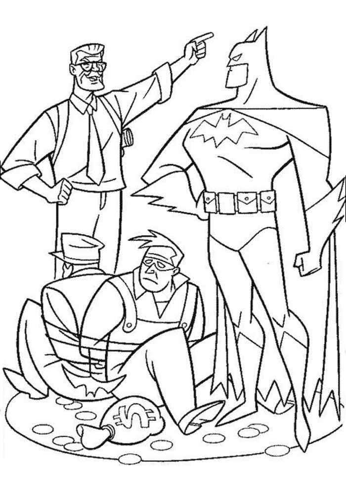 batman coloring page11