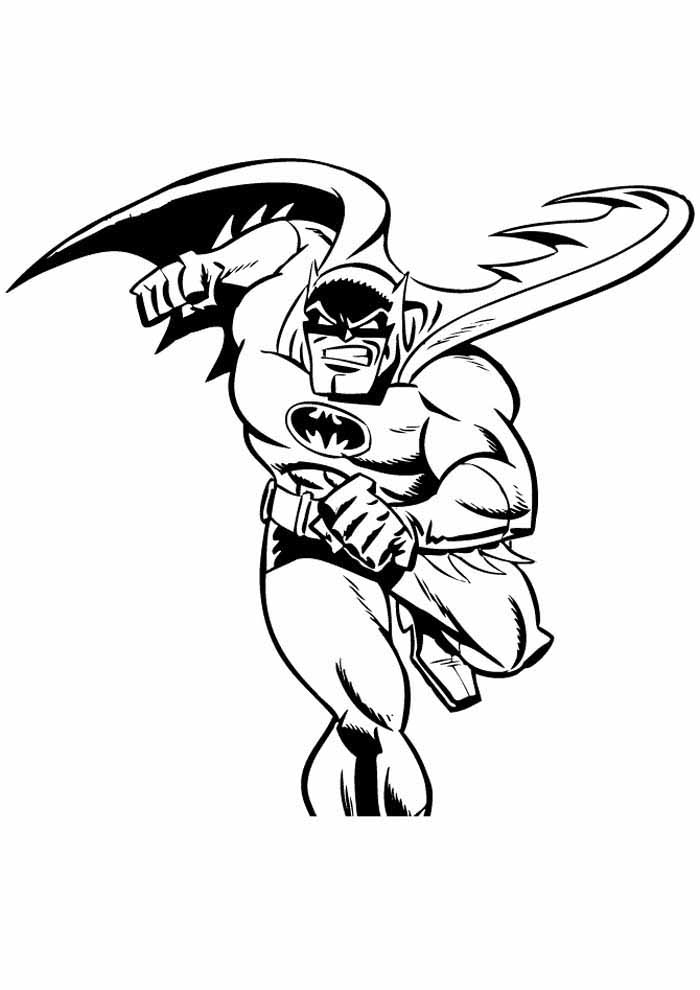 batman coloring page16