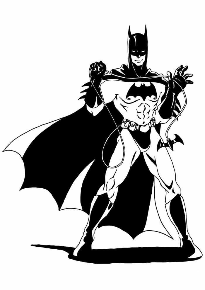batman coloring page17