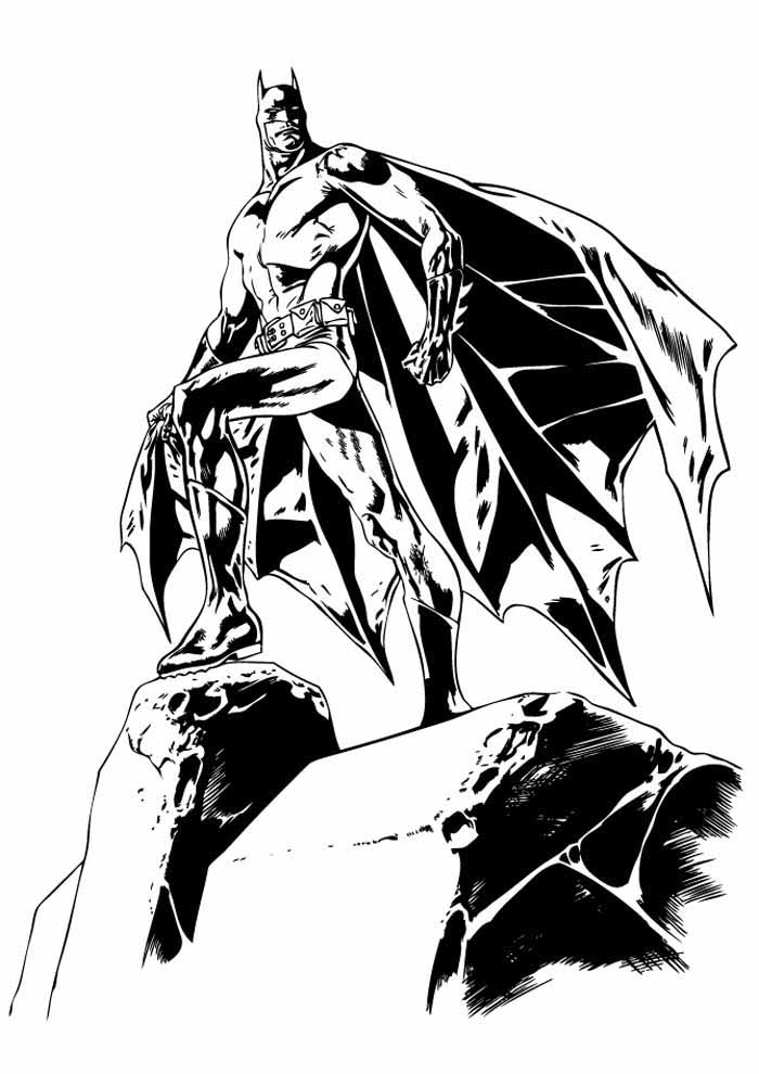 batman coloring page24