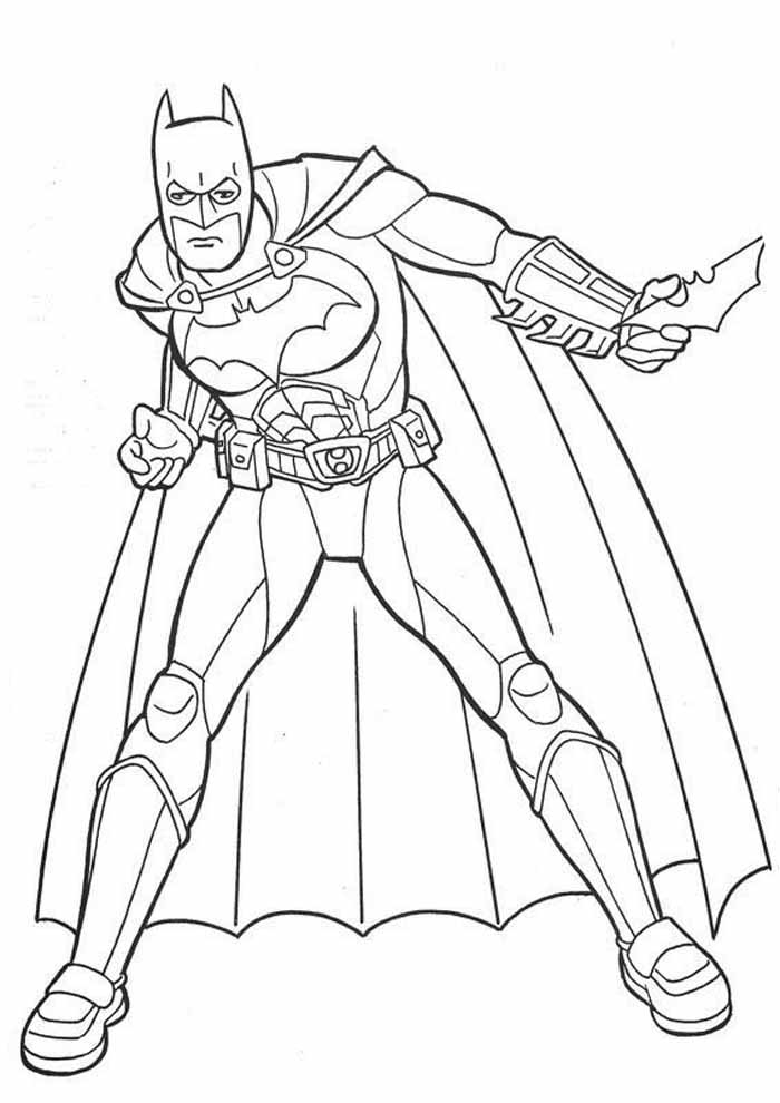 batman coloring page4