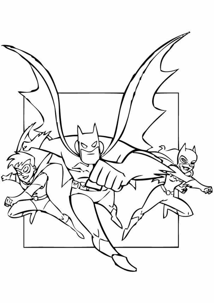 batman coloring page5