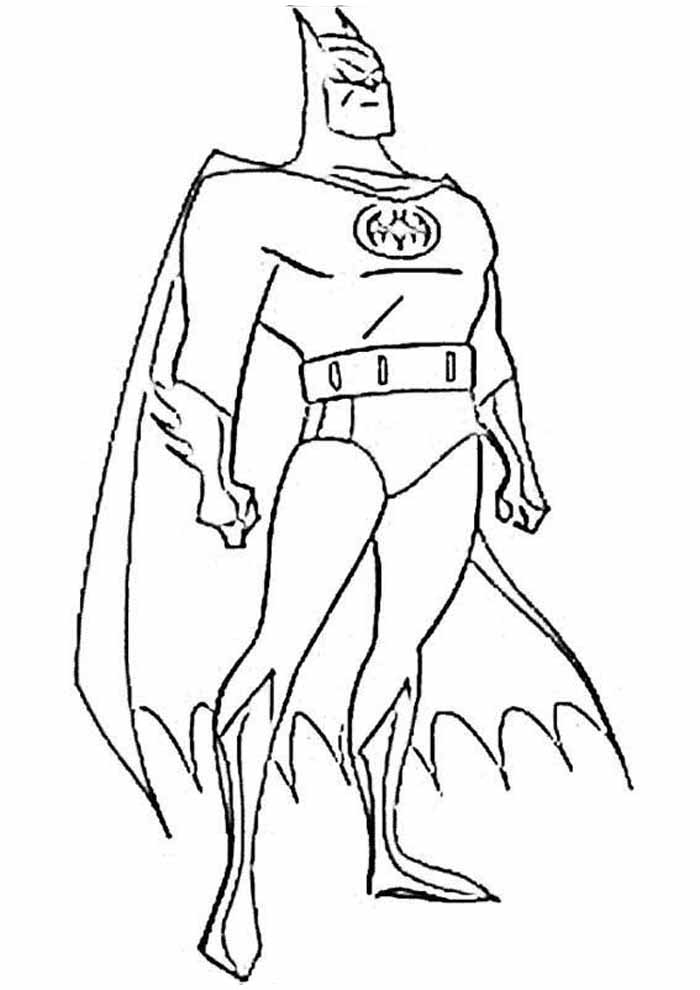 batman coloring page6