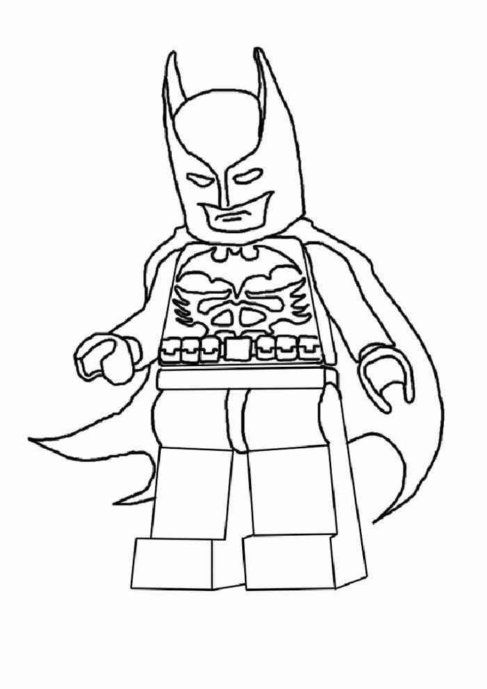batman lego coloring page2