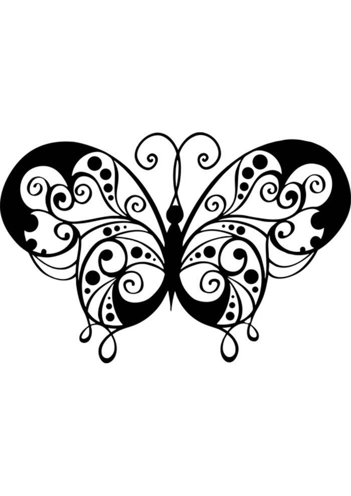 butterfly activity sheet