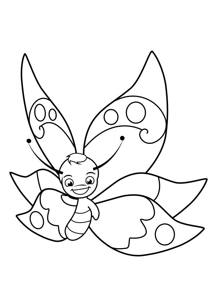 butterfly coloring page 36