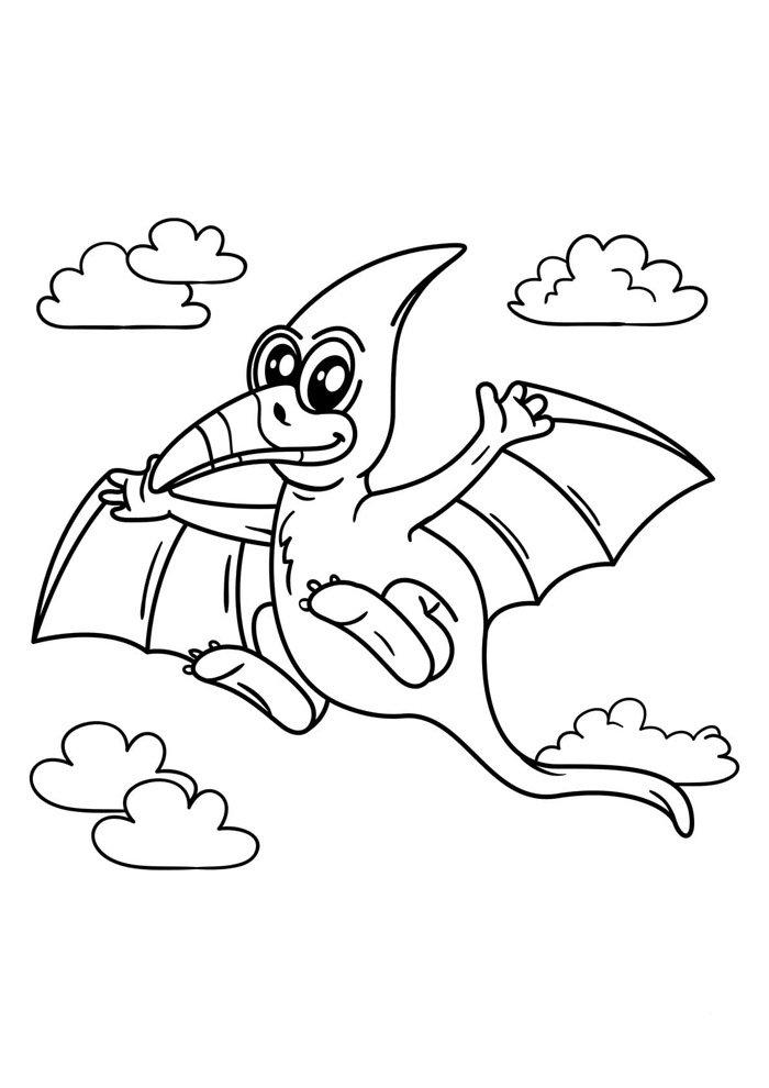 dinosaur coloring page 13