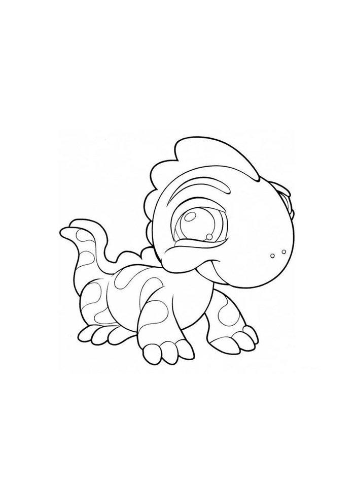 dinosaur coloring page 31