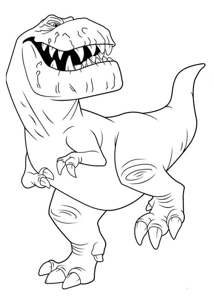 dinosaur coloring page 48