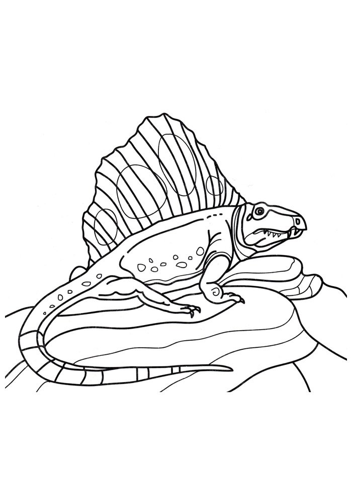 dinosaur coloring page 55