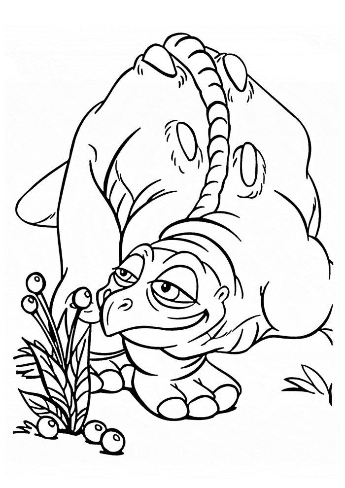 dinosaur coloring page 6