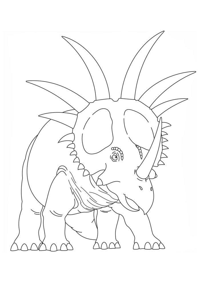 dinosaur coloring page 81