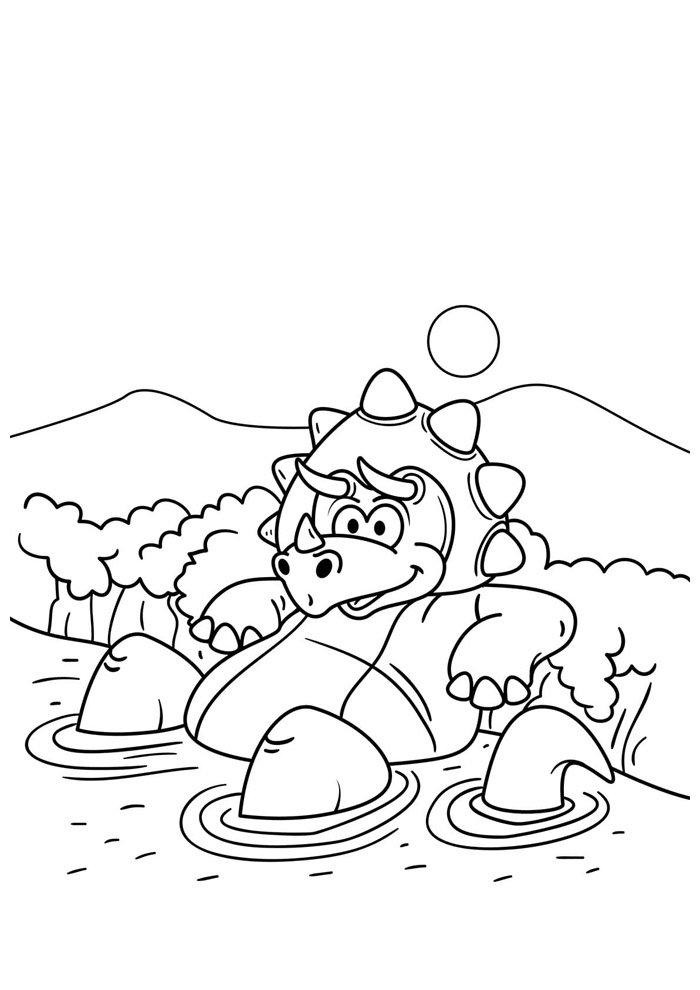 dinosaur coloring page 82