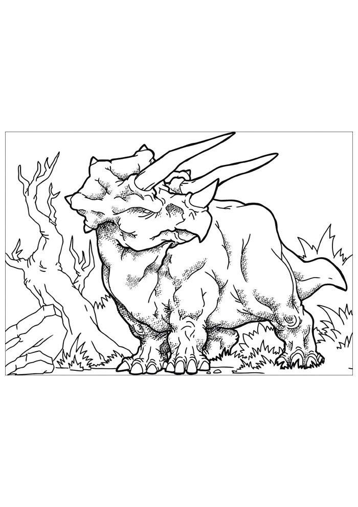 dinosaur coloring page 83