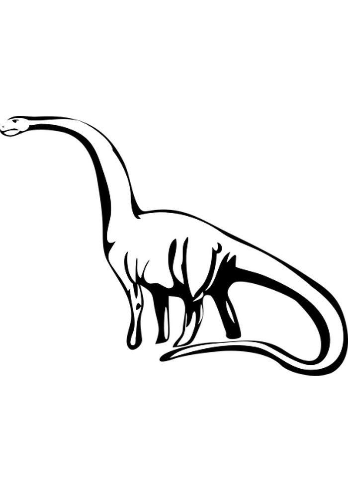 dinosaur to colour in