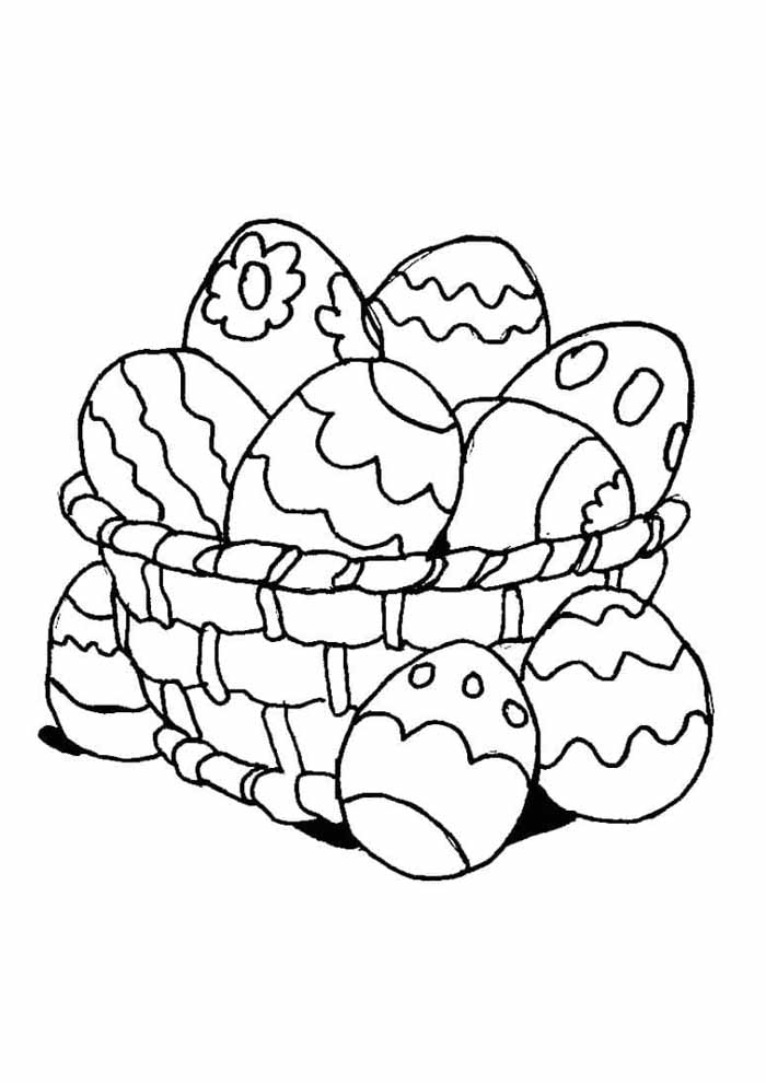 easter coloring page 13