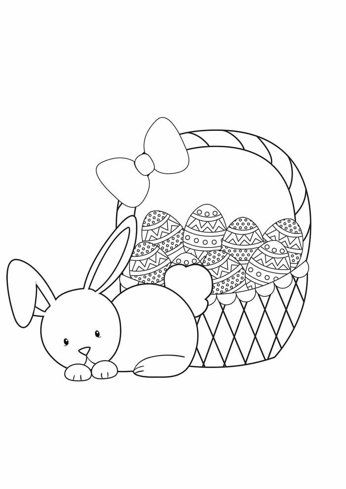 easter coloring page 14