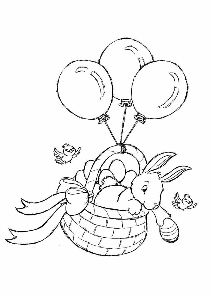 easter coloring page 15