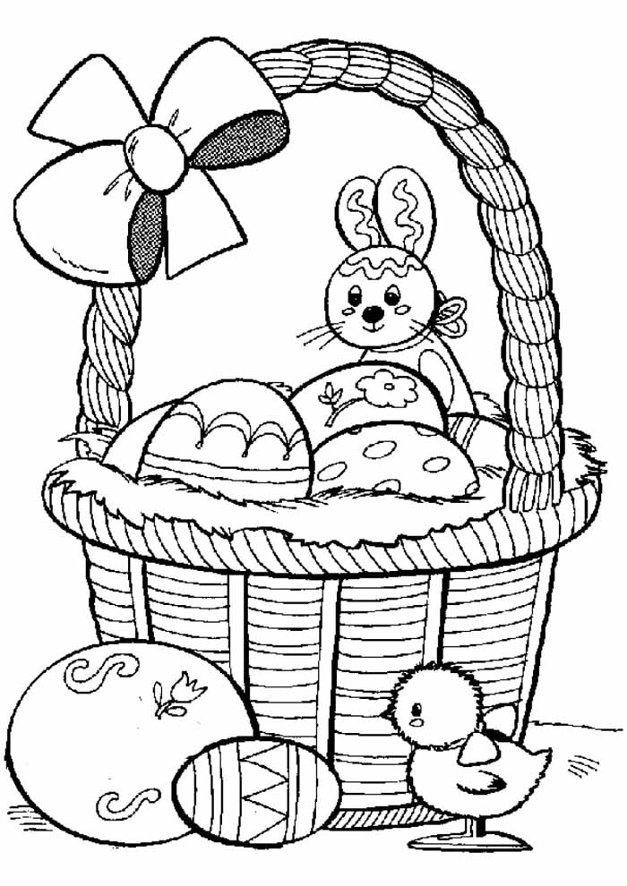 easter coloring page 17