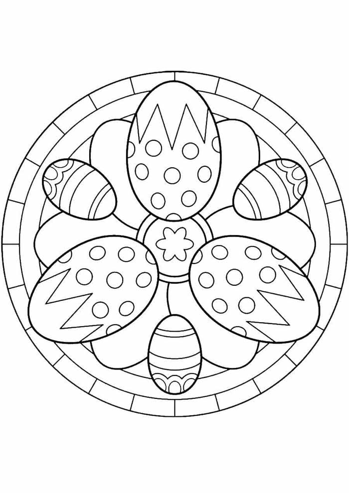 easter coloring page 18