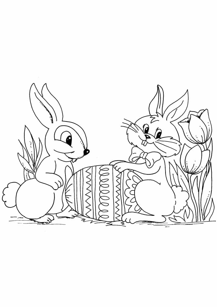 easter coloring page 19