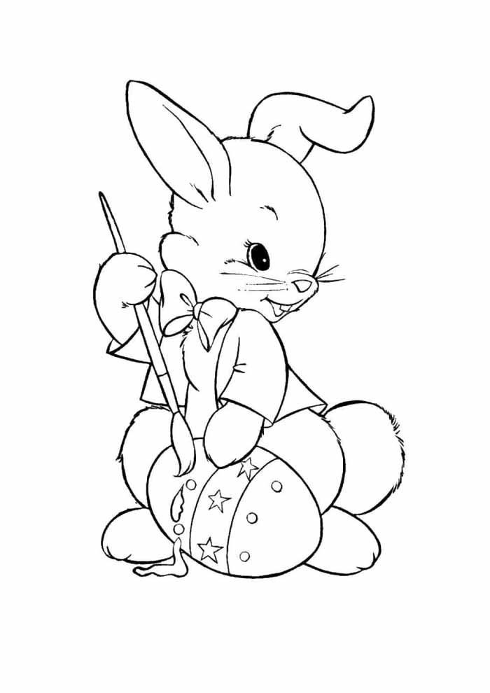 easter coloring page 20