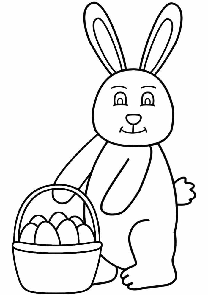 easter coloring page 21