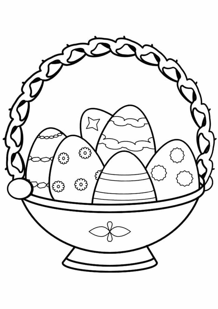 easter coloring page 22