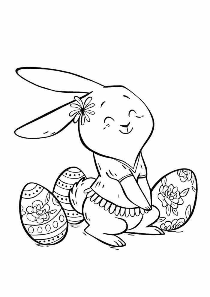 easter coloring page 23