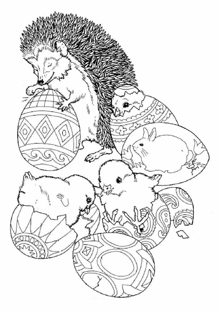 easter coloring page 24
