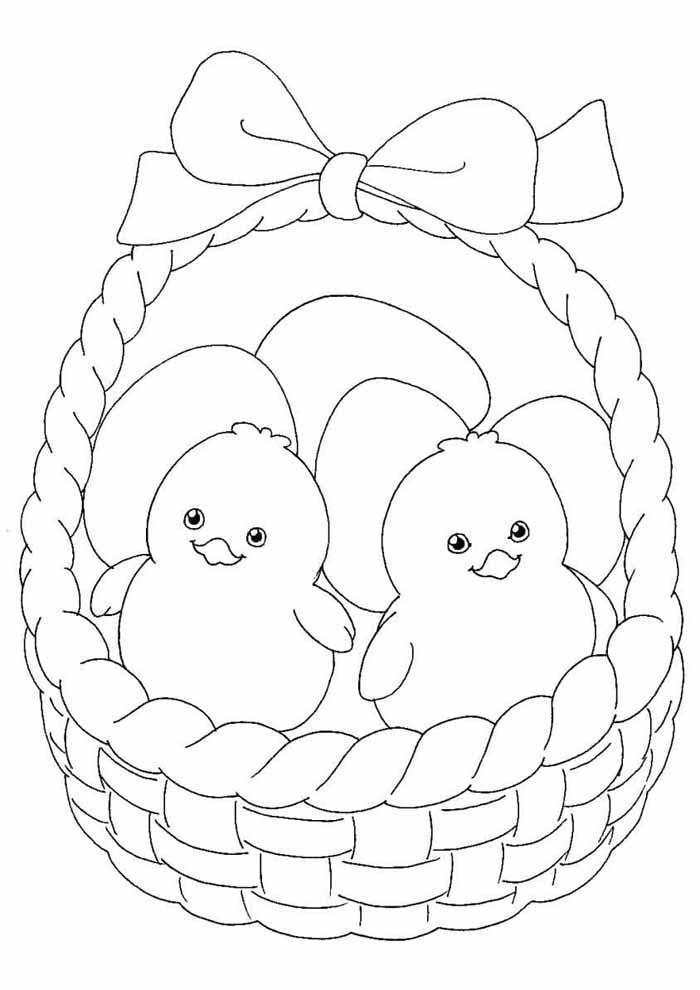 easter coloring page 25