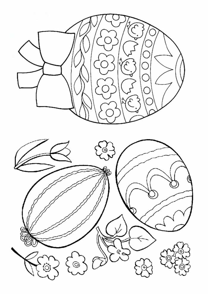 easter coloring page 26