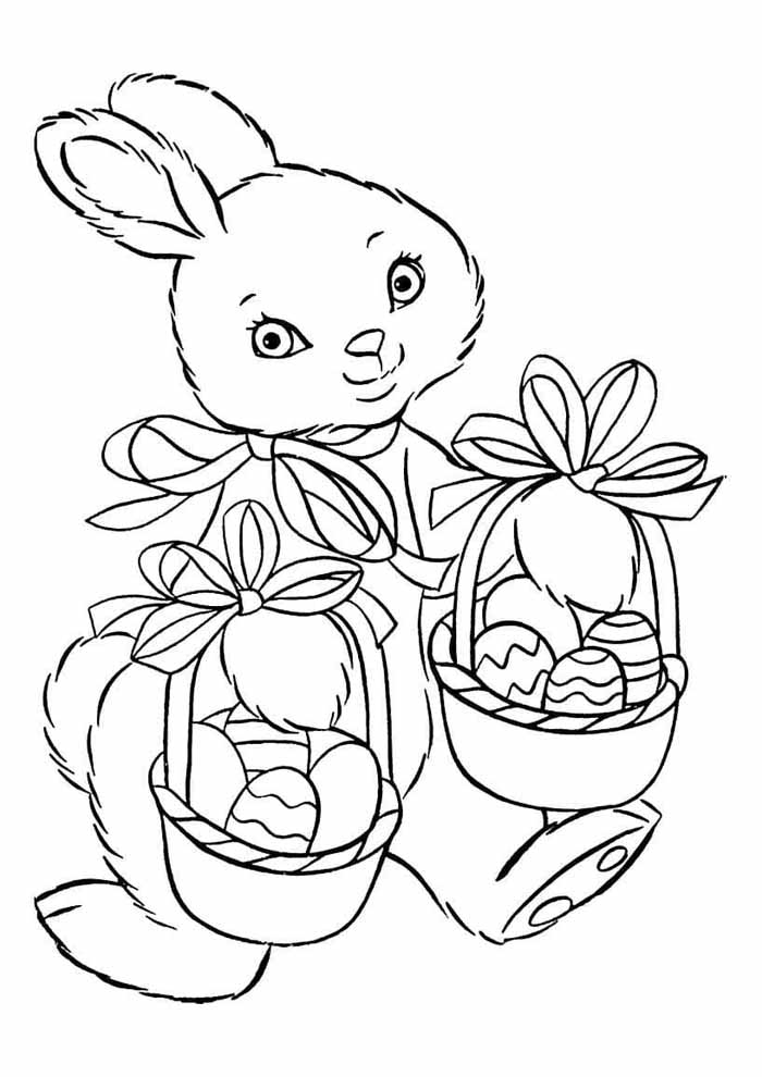 easter coloring page 4