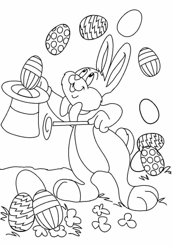 easter coloring page 6
