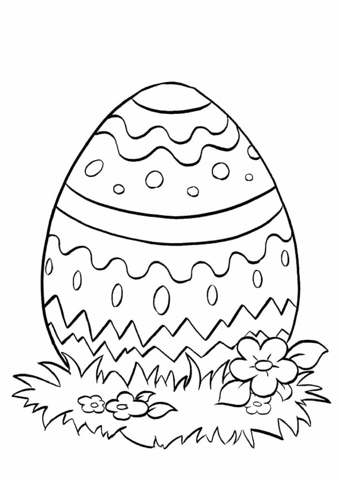 easter coloring page 8