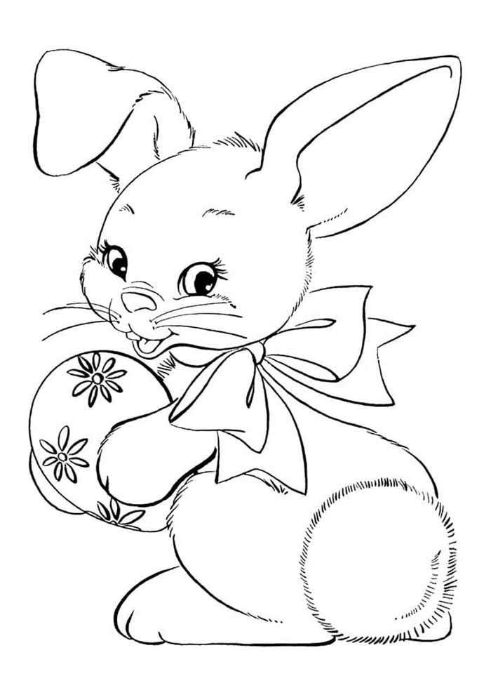 easter coloring page 9