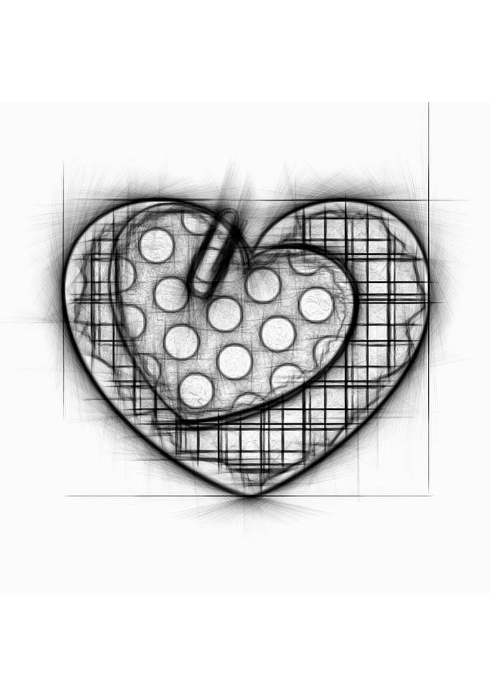 heart coloring page tumblr