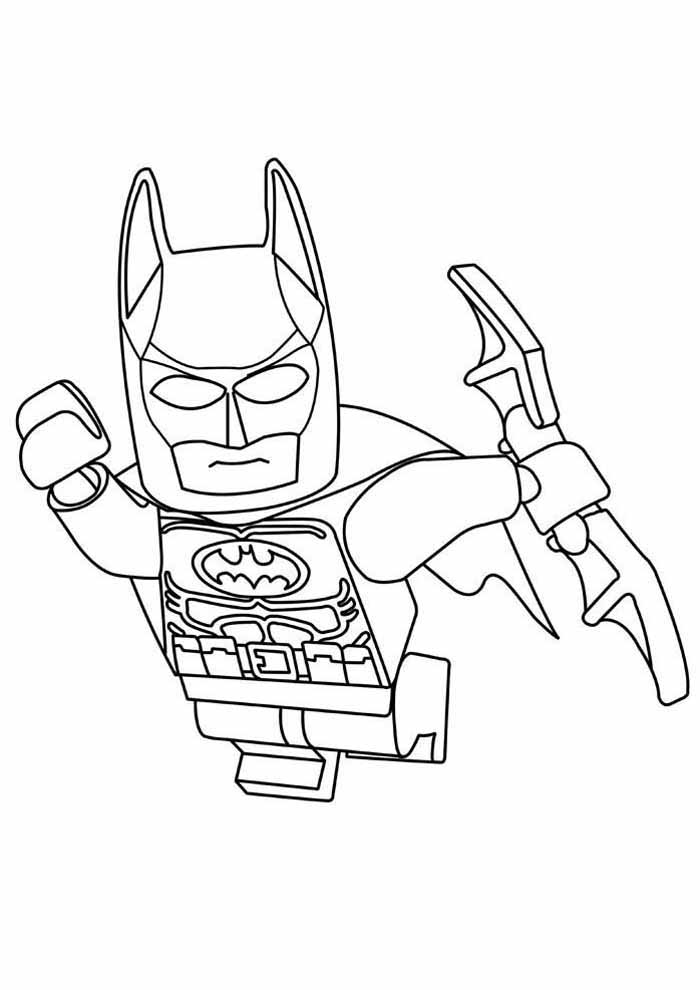 lego batman coloring page