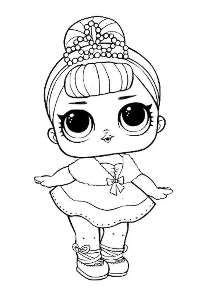 lol coloring page crystal queen
