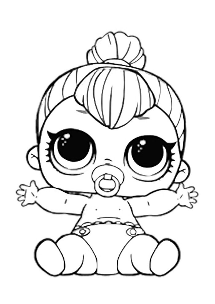 lol coloring page lil spice