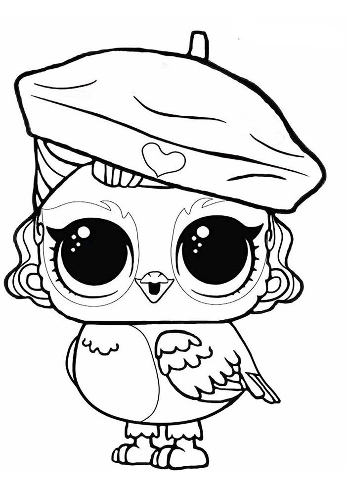 lol coloring page owl